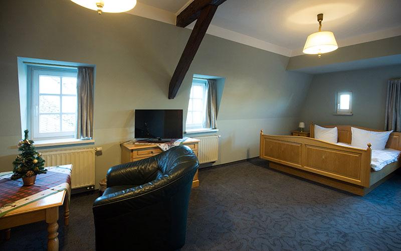 Hotelzimmer Ross